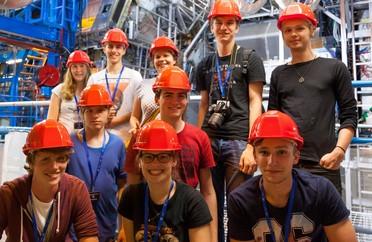 Im Netzwerk Teilchenwelt können Jugendliche bei Workshops am CERN Teilchenphysik hautnah erleben.