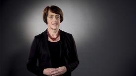 """Poster zum Video Dr. Doris Pfeiffer (GKV-Spitzenverband): """"Erkrankung, die behandelt werden kann"""""""