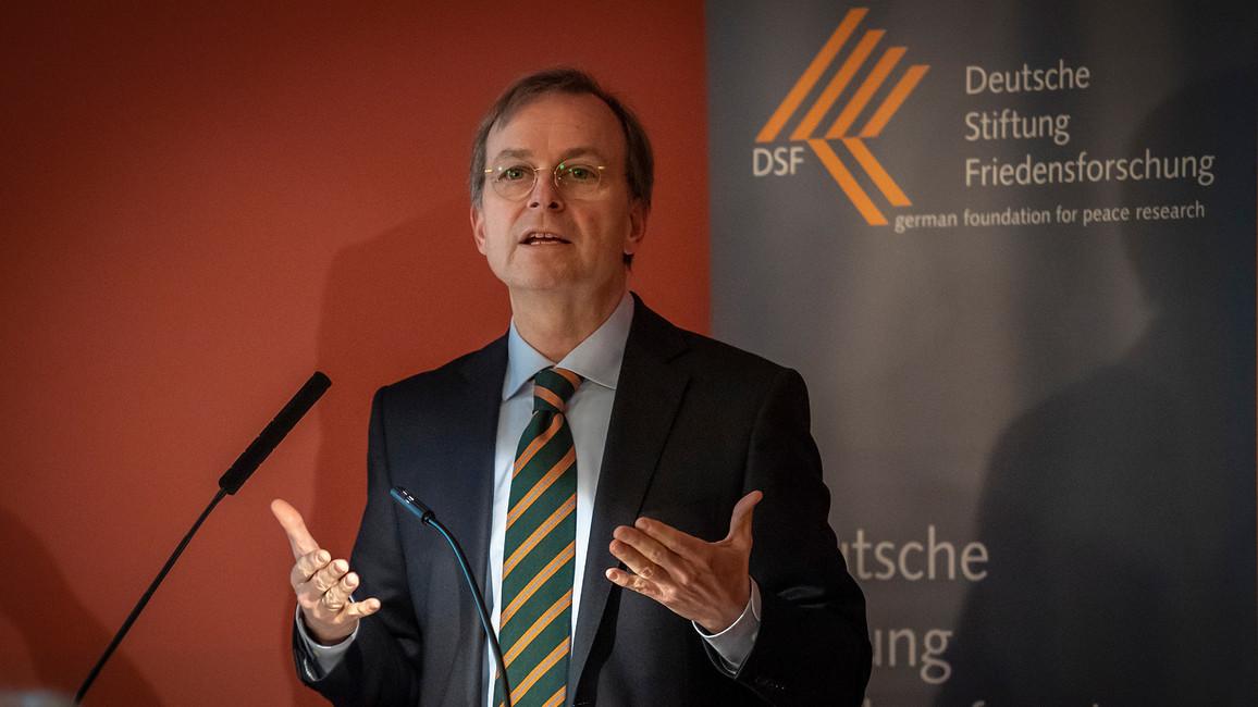 Thomas Rachel, Parlamentarischer Staatssekretär bei der Bundesministerin für Bildung und Forschung, während seiner Rede