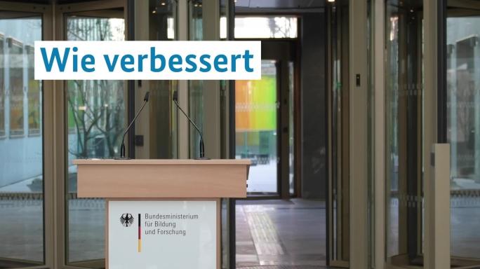 Poster zum Video BM Karliczek stellt Bafög-Reform 2019 vor
