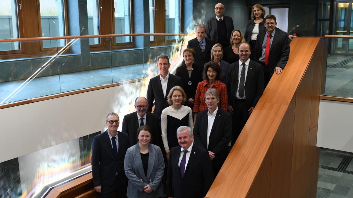 Konstituierende Sitzung des Hightech-Forums