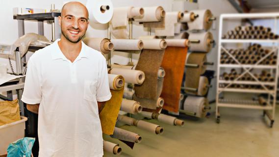 Seit Januar 2012 lebt der Italiener Gaspare Marulli in Deutschland. Weil seine langjährige Berufserfahrung im Anerkennungsverfahren berücksichtigt wurde, bekam er ohne Umwege die volle Anerkennung als Industriemechaniker.