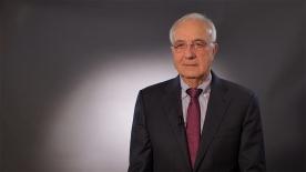 """Poster zum Video Dr. Fritz Pleitgen, Präsident der Deutschen Krebshilfe: """"Eine der großen Aufgaben unserer Zeit"""""""