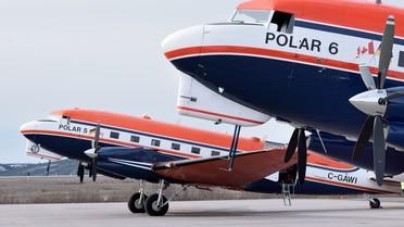 Polarflugzeuge Polar 5 u 6
