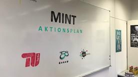 Poster zum Video Vorstellung MINT Aktionsplan an der TU Berlin