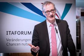 Christian Luft, Staatssekretär im Bundesministerium für Bildung und Forschung, fasst das ITAFORUM 2019 zusammen.
