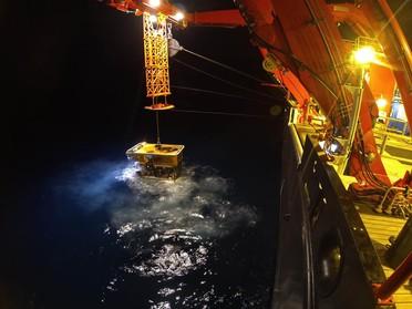 Einsatz des ROV Kiel 6000 auf RV SONNE im Südpazifik