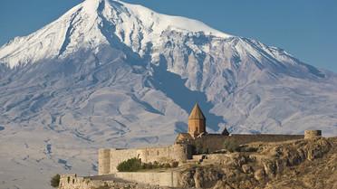 Alte armenische Kirche Chor Virap