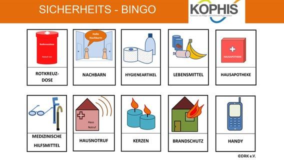 Sicherheits-Bingo des DRK e.V.