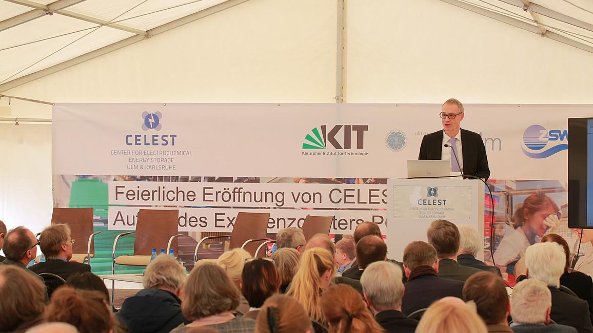 Forschungsplattform CELEST und Batterie-Exzellenzcluster POLiS eingeweiht