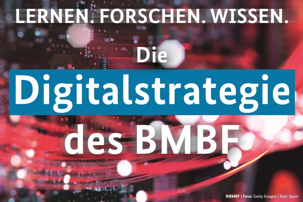 Grafik zur Digitalstrategie des BMBF