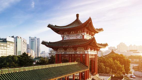 Alte chinesische Architektur