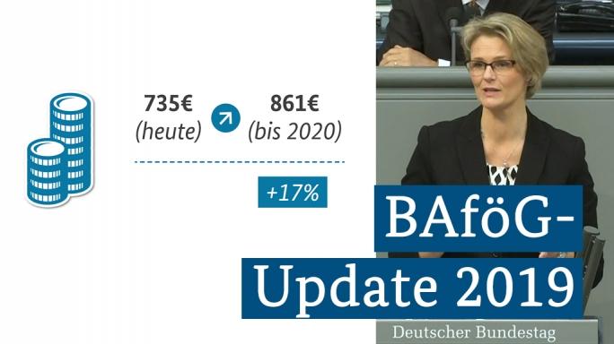 Poster zum Video BAföG-Update 2019