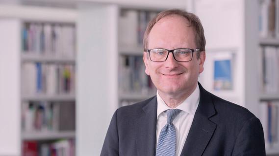 Ulrich Scharlack, Sprecher des Bundesministeriums für Bildung und Forschung