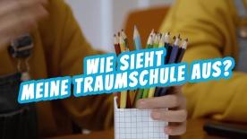 """Poster zum Video """"Bildungswelten der Zukunft"""" - Film 1 """"Tausche Bildung für Wohnen"""""""