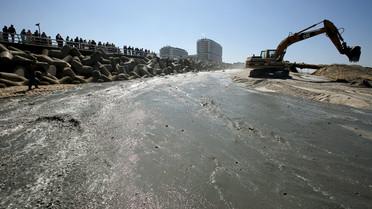 Sandvorspülungen auf Sylt