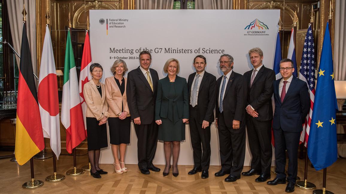 G7-Wissenschaftsministertreffen