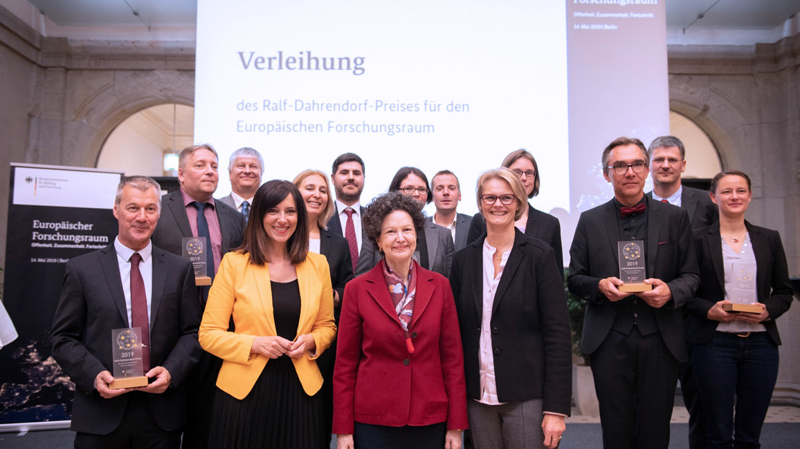 Preisverleihung Dahrendorf-Preis