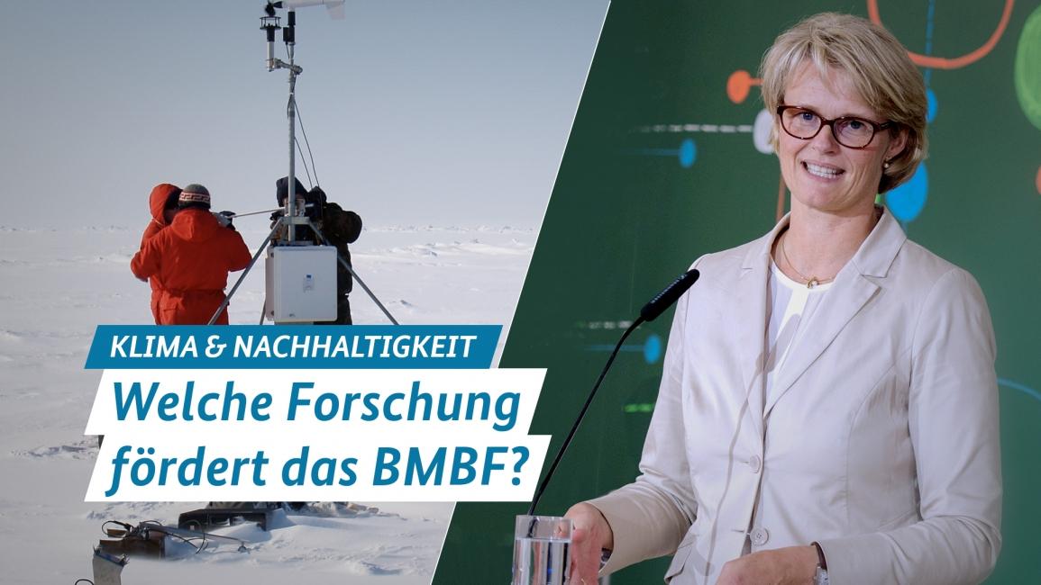 Poster zum Video BMBF Forschung zum Klimawandel und zur Nachhaltigkeit