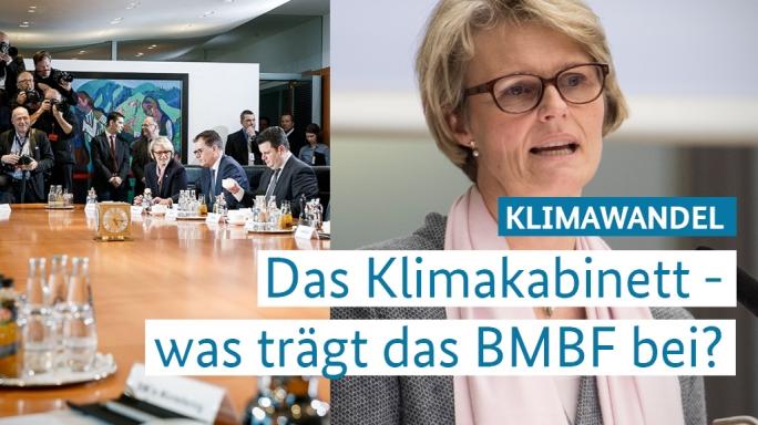 Poster zum Video Das Klimakabinett: BM Anja Karliczek stellt die Arbeit  des BMBF vor