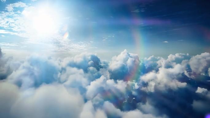 Poster zum Video Stock Footage - Wolken