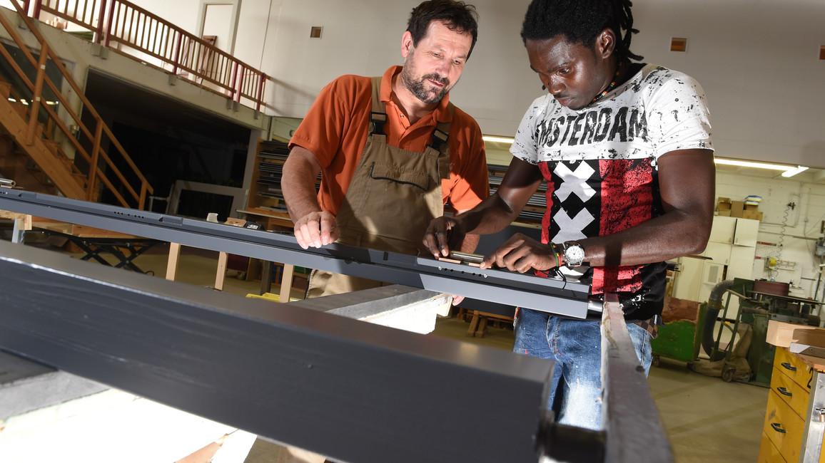 Berufsausbildung für Flüchtlinge