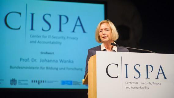 Kick-Off Verstaltung des CISPA am 22.10.2015 in der Gasgebläsehalle des Weltkulturerbe Völklinger Hütte.