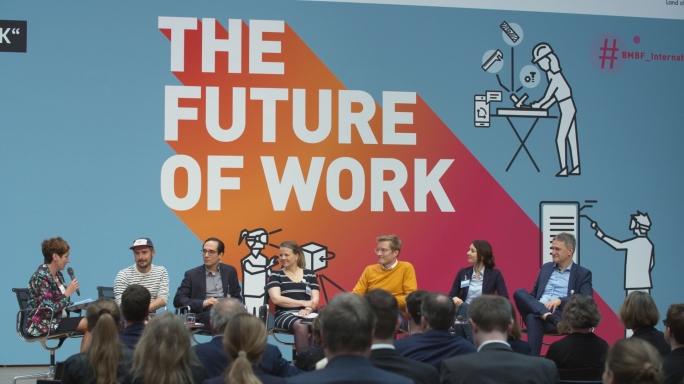 Poster zum Video Die Zukunft der Arbeit gemeinsam gestalten (Kurzfassung)