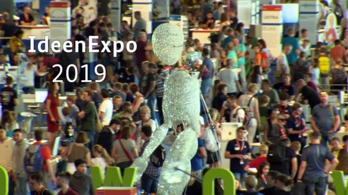 Poster zum Video Auf der IdeenExpo die Magie von MINT erleben!