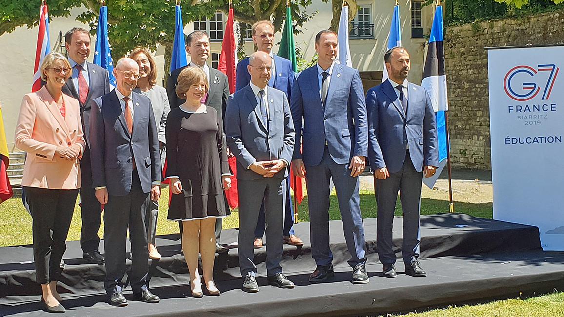 G7-Bildungsminister-Treffen Paris