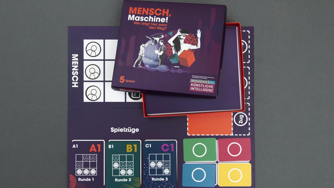 Das Spiel 'Mensch, Maschine'