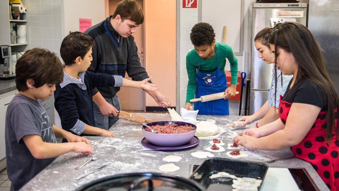 Johanna Wanka besucht Kultur macht stark - Projekt