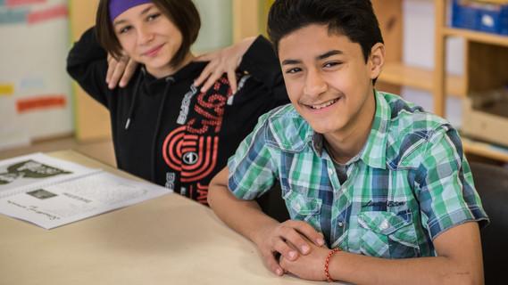 Kinder im Projekt Kultur macht stark