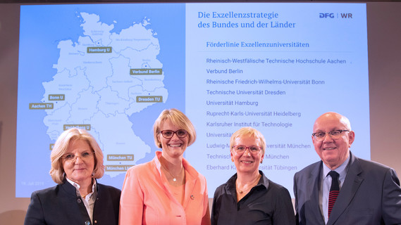 In Bonn wurden die Exzellenzuniversitäten bekanntgegeben.