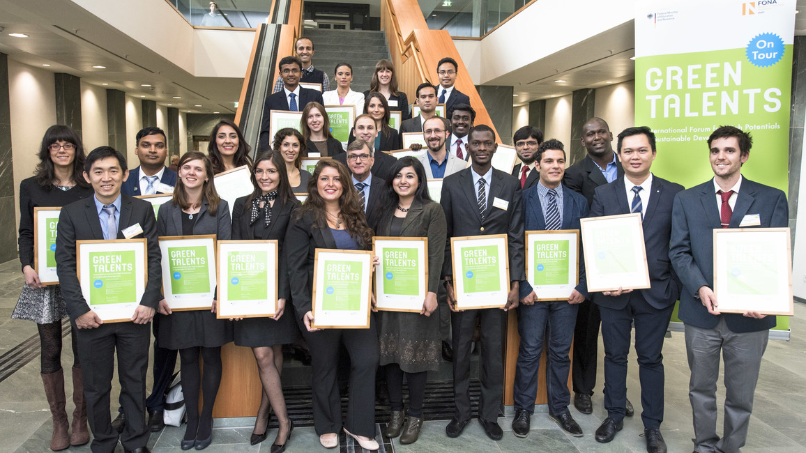 Die Green Talents 2015