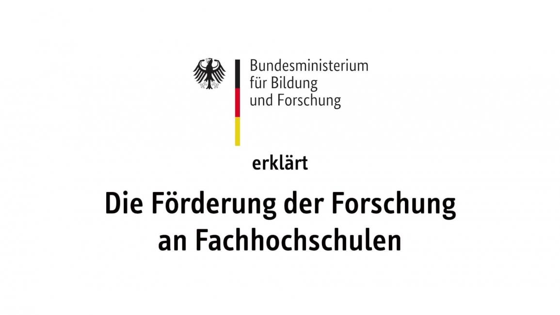 Poster zum Video Forschung an Fachhochschulen aktiv gestalten!