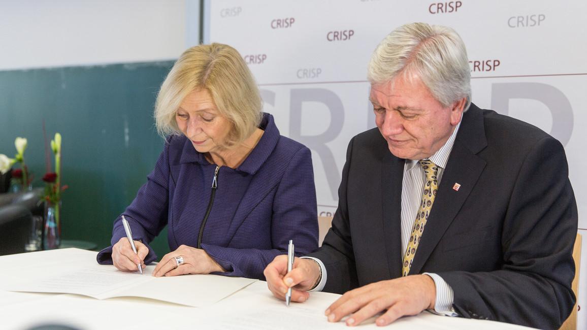 Eröffnung des CRISP an der TU Darmstadt