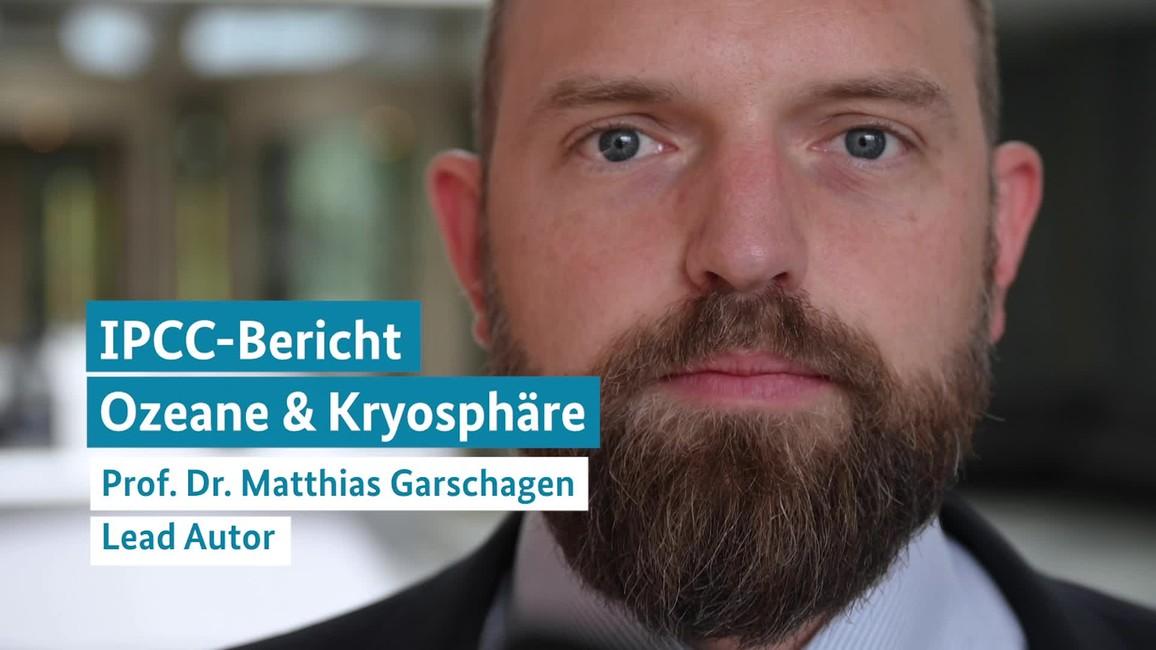 Poster zum Video Interview mit Prof. Garschagen zum IPCC-Sonderbericht