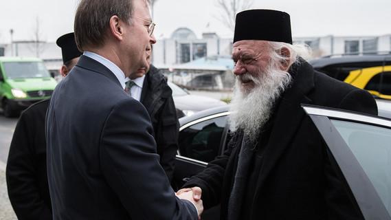 Geistliche Würdenträger aus Griechenland besuchen das BMBF