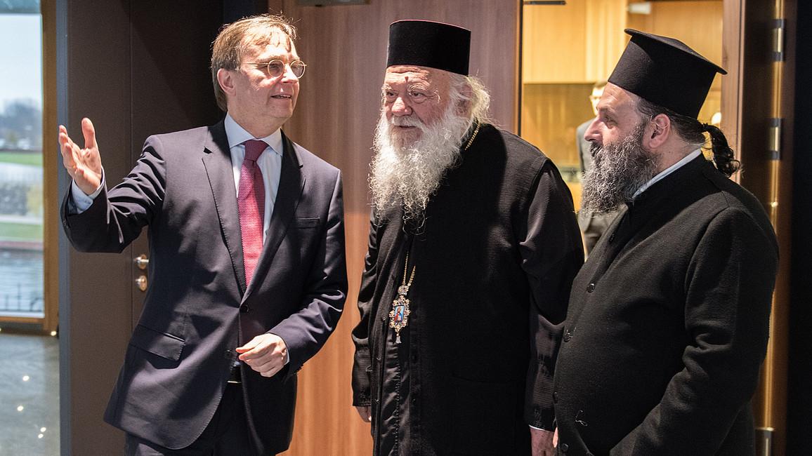 Geistliche Würdenträger aus Griechenland