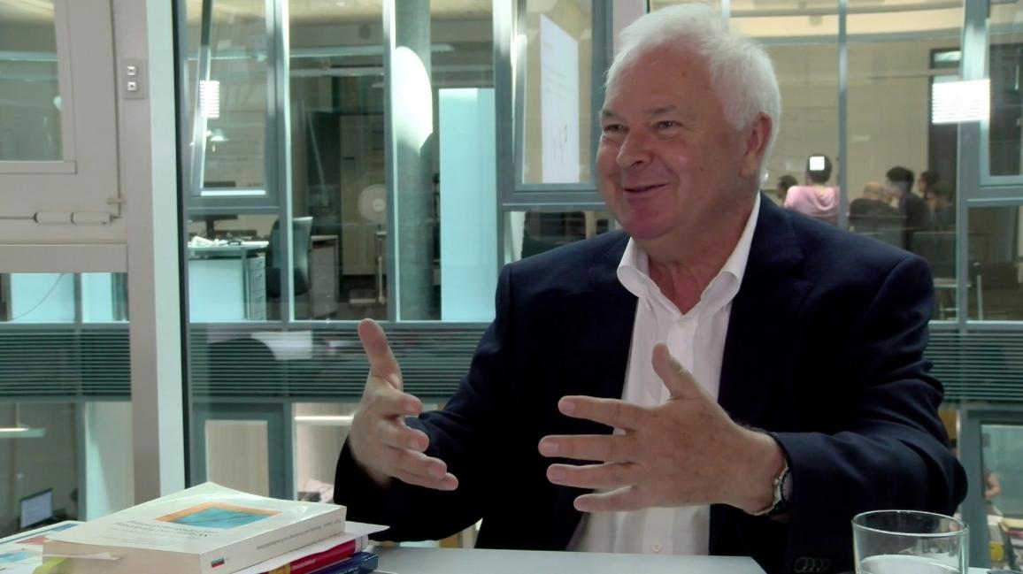 Poster zum Video Interview Prof. Dr. Hans-Dieter Daniel