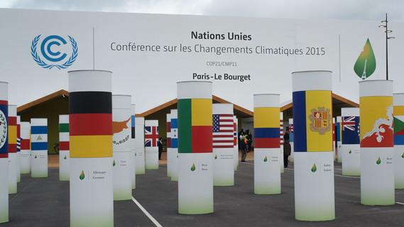 Der Klimagipfel 2015 findet in Paris statt.