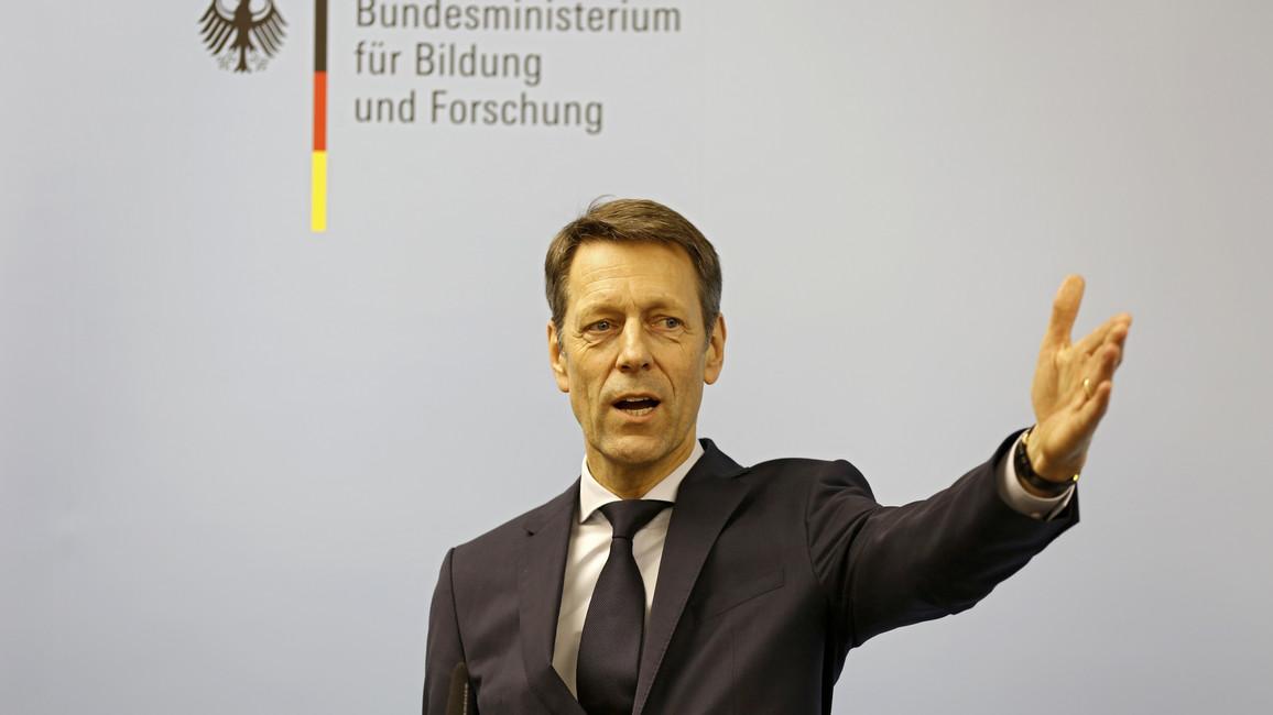 Georg Schütte während seiner Eröffnungsrede