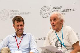 Forschungsstaatssekretär Schütte auf dem Nobelpreisträgertreffen in Lindau