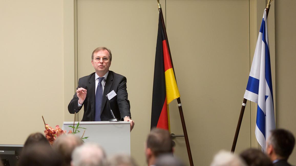 Thomas Rachel, Parl. Staatssekretär, während seiner Rede
