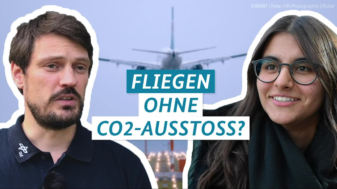 Poster zum Video Fragen4Future: Flugverkehr