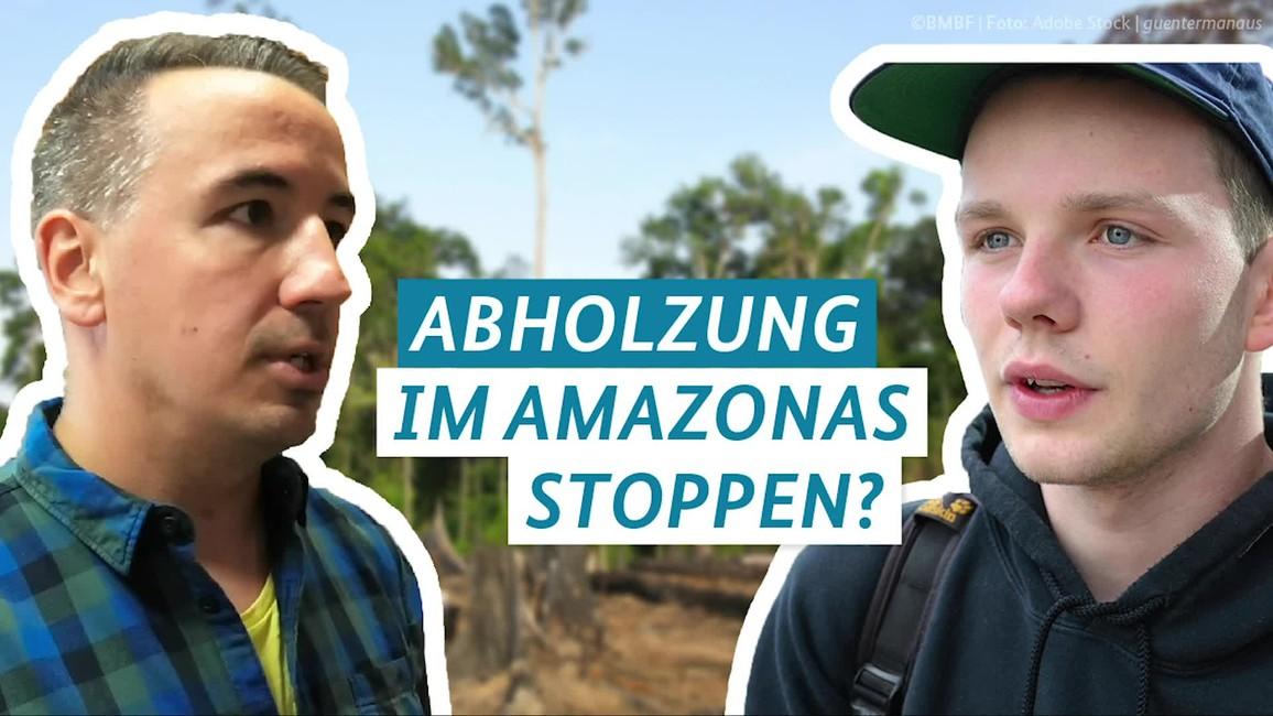 Poster zum Video Fragen4Future Folge 6: Abholzung des Amazonas