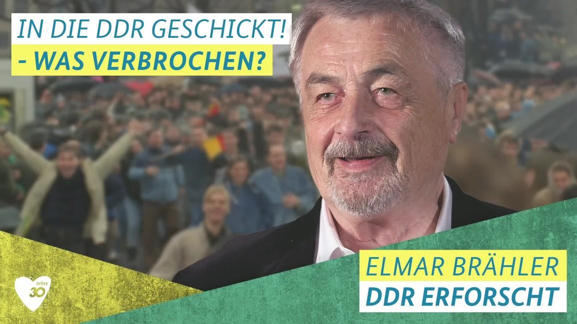 Poster zum Video Elmar Brähler über den Mauerfall
