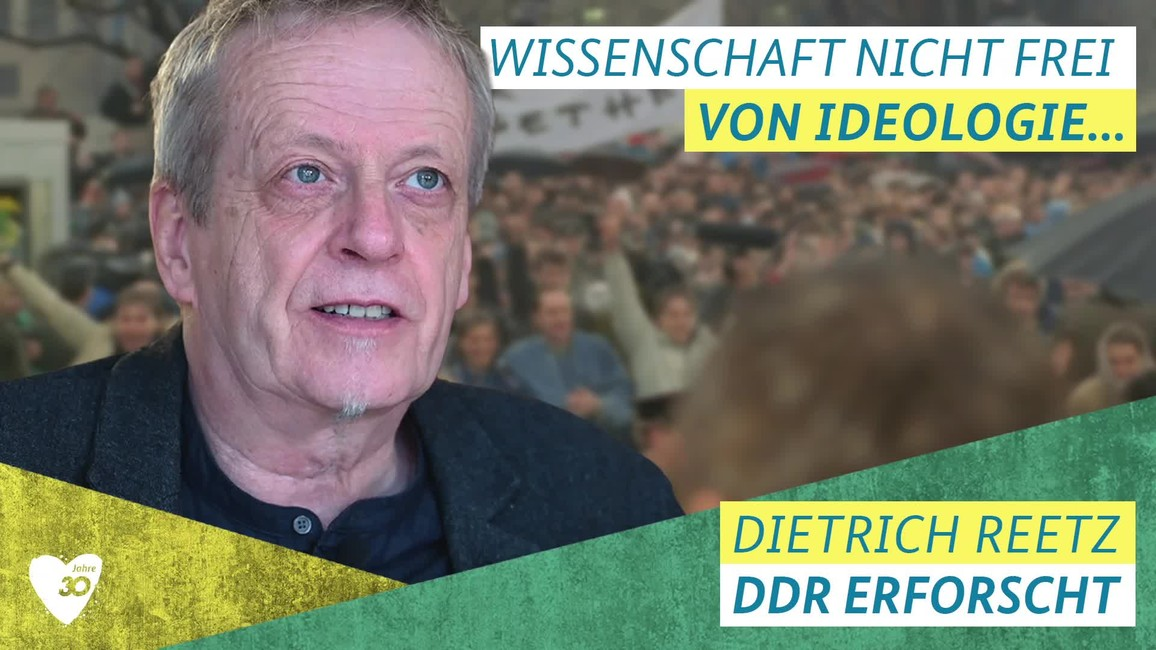 Poster zum Video Video zu 30 Jahre Mauerfall mit PD Dr. Dietrich Reetz