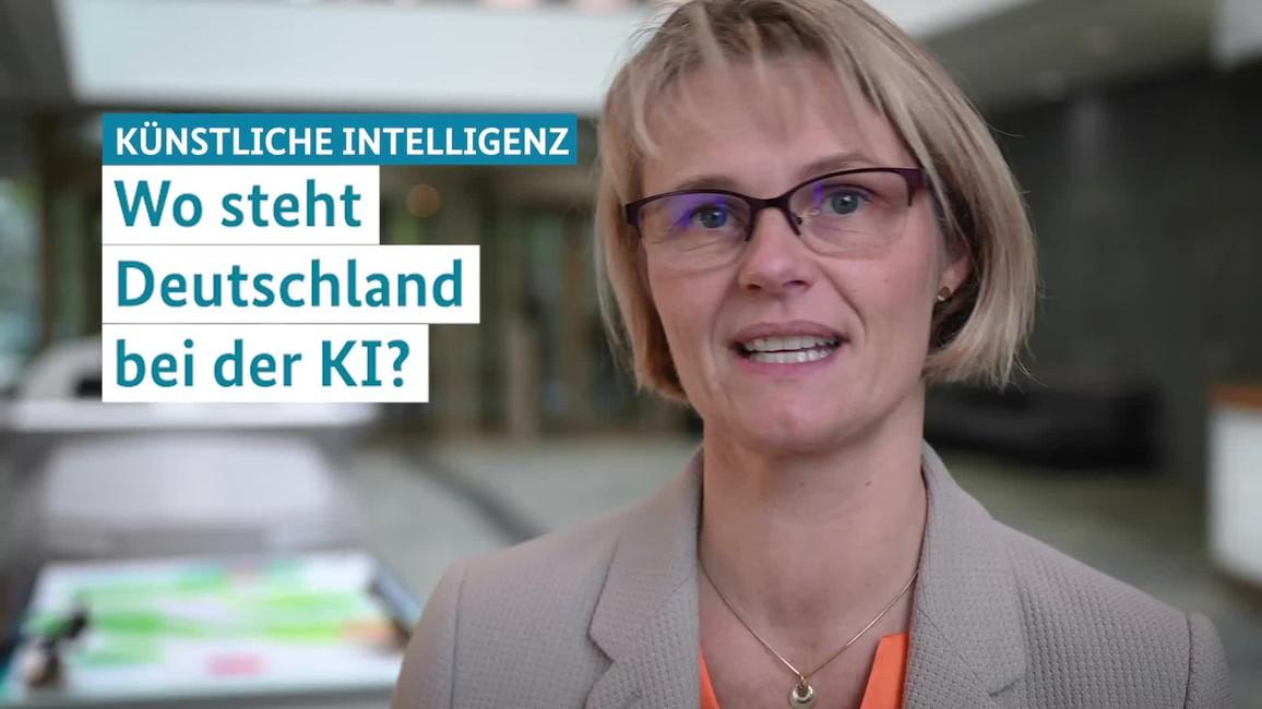 Poster zum Video Statement zum Stand Künstliche Intelligenz: Wo steht Deutschland bei der KI?
